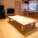 大工手づくりの座卓